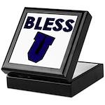 Bless U (dark Blue) Keepsake Box