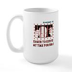 Prisoner Large Mug
