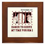 Prisoner Framed Tile