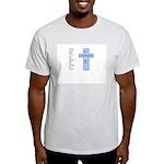 Greatest is Love Design Ash Grey T-Shirt