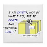 Gift from God Design Tile Coaster
