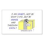 Gift from God Design Rectangle Sticker