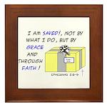 Gift from God Design Framed Tile