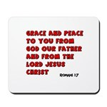 Christian Greeting Design Mousepad