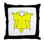 Angel Design Throw Pillow