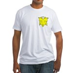 Angel Design Fitted T-Shirt