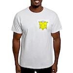 Angel Design Ash Grey T-Shirt
