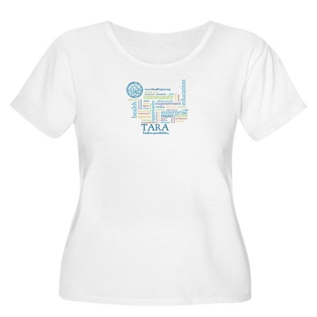Wordle Women's Plus Size Scoop Neck T-Shirt