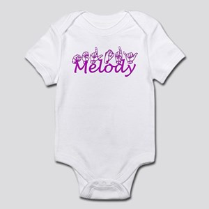 Melody-pink Infant Bodysuit