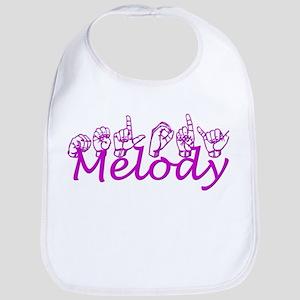 Melody-pink Bib