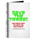 SAVE THE TREES!! Journal