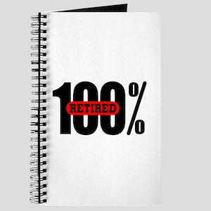 100 Percent Retired Journal