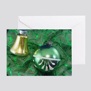 Ornament & Bell Greeting Card