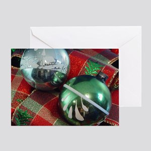 2 Ornaments Greeting Card