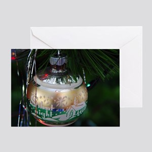 Silent Night Ornament Greeting Card