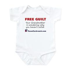 Free Guilt: grandmother wonde Infant Bodysuit