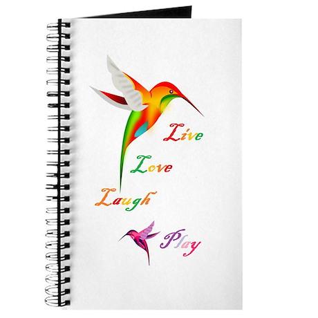 Hummingbird Live Love Laugh P Journal