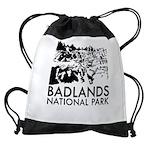 Badlands National Park Drawstring Bag