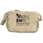 Badlands National Park Messenger Bag