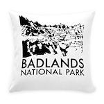 Badlands National Park Everyday Pillow