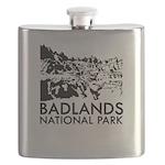 Badlands National Park Flask