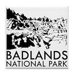Badlands National Park Tile Coaster