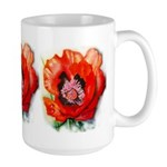 Large Mug with poppies.