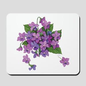 Violets Mousepad