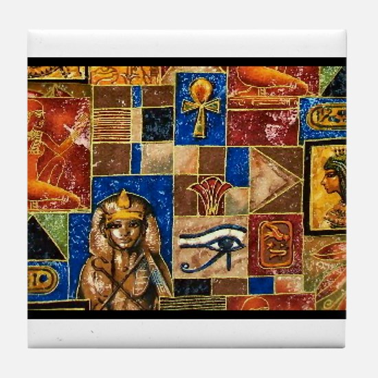 Egyptian Art Tile Coaster