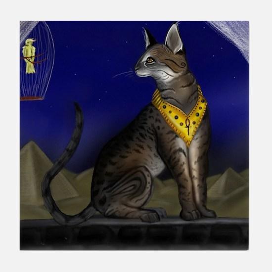Egyptian Art Tile Coaster