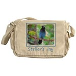 Steller's Jay Messenger Bag