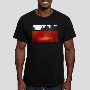 Left Behind Fitted T-Shirt (dark)