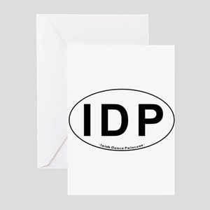 IDP Oval - Greeting Cards (Pk of 20)