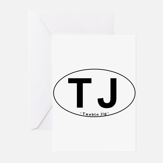 TJ Oval - Greeting Cards (Pk of 20)