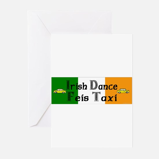Feis Taxi - Greeting Cards (Pk of 20)