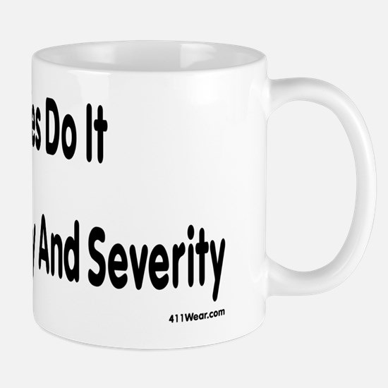 Actuaries Do It With Frequency And Severity Mugs