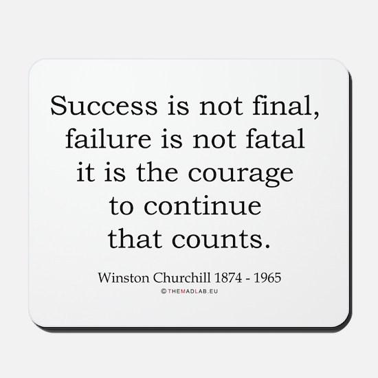 Winston Churchill 31 Mousepad