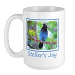 Steller's Jay 15 oz Ceramic Large Mug