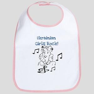 Ukrainian Girls Rock Bib