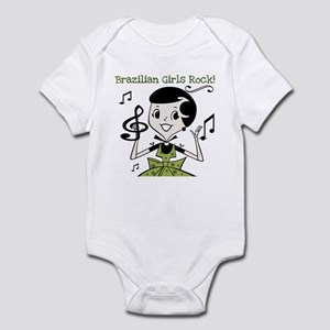 Brazilian Girls Rock Infant Bodysuit