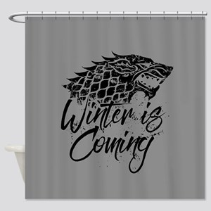 GOT Winter Is Coming Shower Curtain