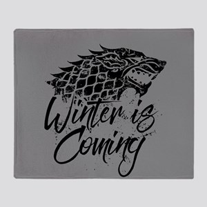 GOT Winter Is Coming Throw Blanket