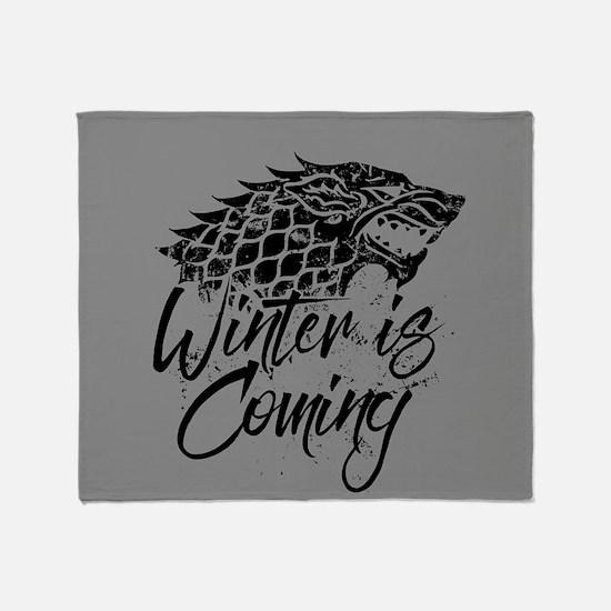 GOT Winter Is Coming Throw Blanket