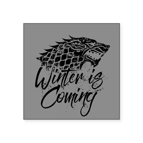 Game Of Thrones Winter Is Coming Sticker