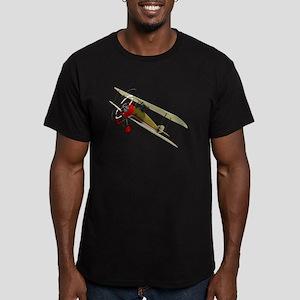 Pilot Version 2 Men's Fitted T-Shirt (dark)
