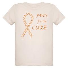 Orange Paws4Cure T-Shirt