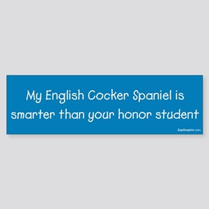 English Cocker Spaniel / Honor Student