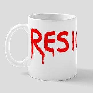 Resigned Mug