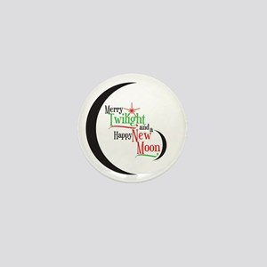 Twilight New Moon Phase Mini Button