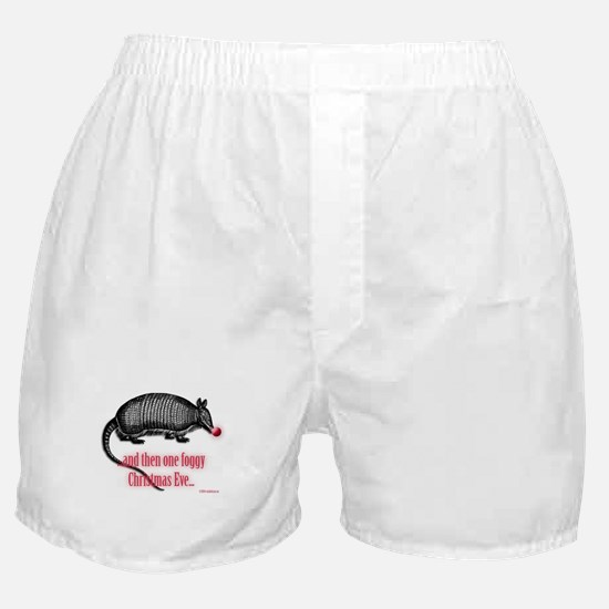 Red Nosed Armadillo Boxer Shorts